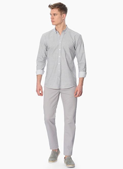 George Hogg Slim Fit Uzun Kollu Gömlek Siyah